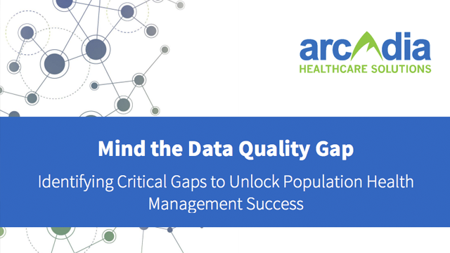 White Paper: Mind the Data Quality Gap