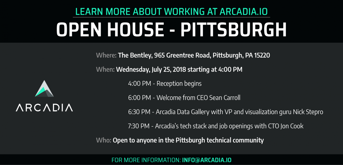 Pittsburgh Arcadia.io Open House