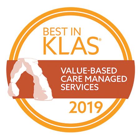 2019 Best in KLAS - Vavlue-Based Care Managed Services