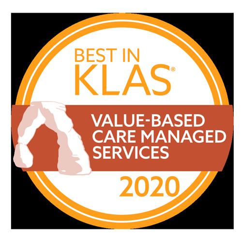 2020 Best in KLAS - Value-Based Care Managed Services