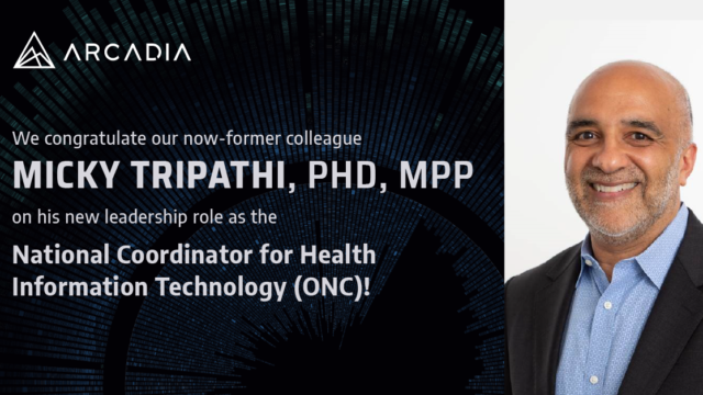 Micky Tripathi named to lead ONC