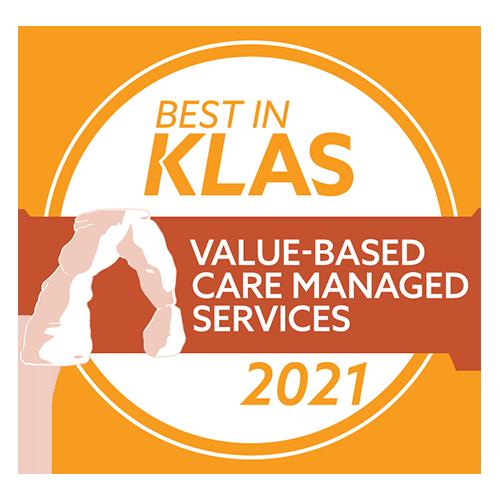 2021 Best in KLAS - Value-Based Care Managed Services
